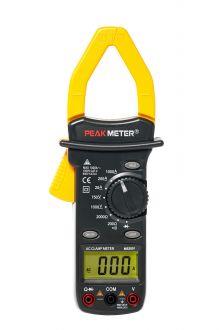 MS2001 PeakMeter клещи переменного тока