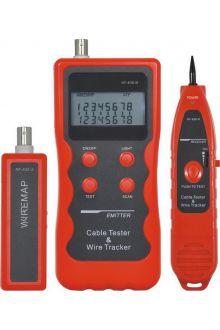 NF-838 трассоискатель, кабельный тестер