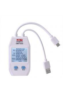 UT658DUAL USB тестер