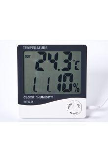 HTC-2 термометр с влажностью и часами