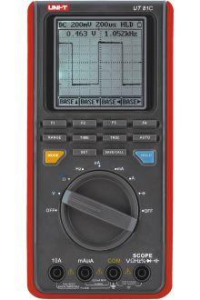 UT81C портативный осциллограф 16 МГц