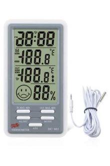 DC803 термометр с влажностью и часами