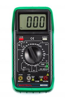M9508 цифровой мультиметр