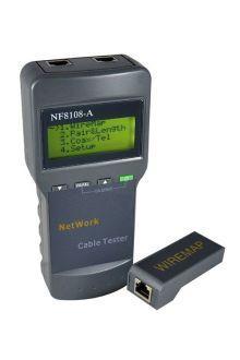 NF-8108A RU кабельный тестер измеритель длины