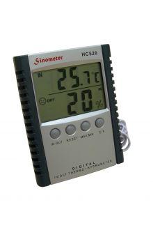 HC-520 комнатно-уличный термометр с влажностью