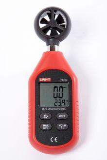 UT363 измеритель скорости ветра