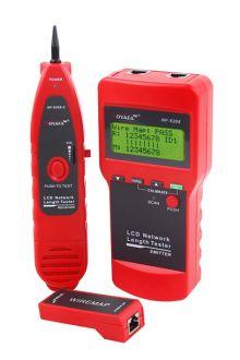 NF-8208 кабельный тестер измеритель длины трассоискатель