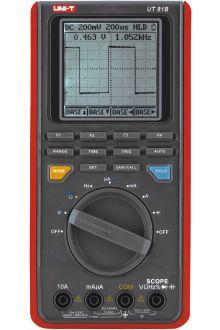 UT81B портативный осциллограф 8 МГц