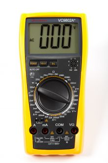 VC9802A+ цифровой мультиметр