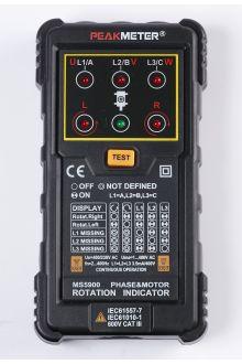 PM5900 PeakMeter детектор последовательности фаз