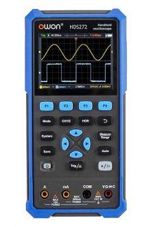 HDS272S портативный 2-х канальный осциллограф 70 МГц
