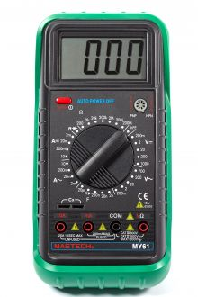 MY61 цифровой мультиметр