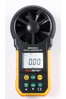 MS6252A PeakMeter измеритель скорости ветра