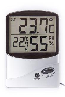 TM986H комнатно-уличный термометр с влажностью
