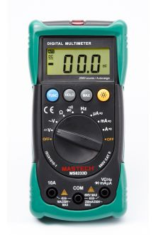MS8233D цифровой мультиметр автомат