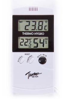 TM977H комнатно-уличный термометр с влажностью