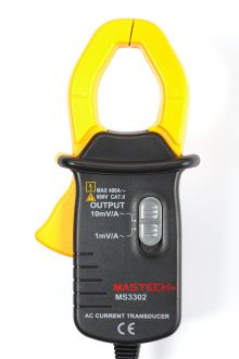 MS3302 приставка клещи переменного тока