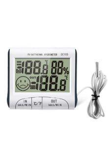 DC103 комнатно-уличный термометр с влажностью